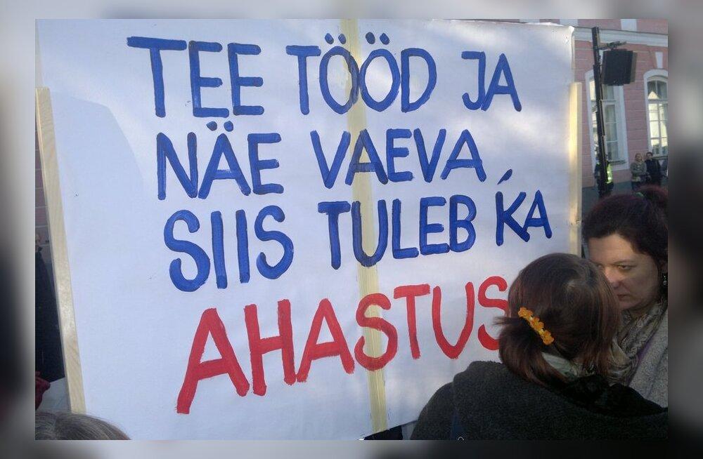 TÄNA: algab streik, kuid elu seisma ei jää!
