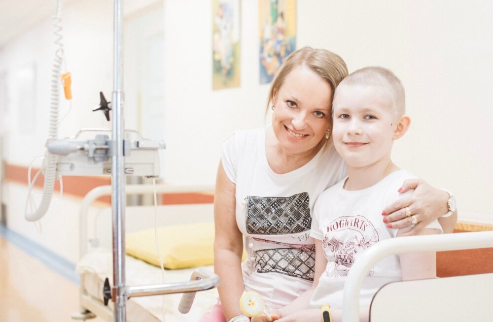 Vähidiagnoosi saanud laste ja nende perede taustajõud Luive: esimene emotsioon on kohutav, suur hirm — mis nüüd saab, kas mu laps sureb?