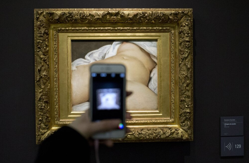 Facebooki-Prantsusmaa konflikt Courbet alastimaali pärast