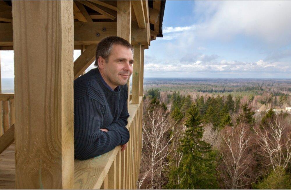 Alutaguse vallavanem Tauno Võhmar vaatab üle Mandri-Eesti suurima omavalitsuse.