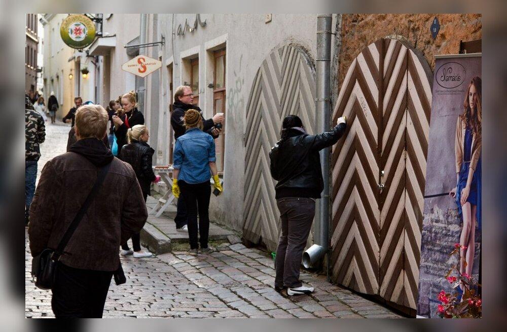 FOTOD: Mis vahe on seinakunstil ja lihtsalt sodimisel?