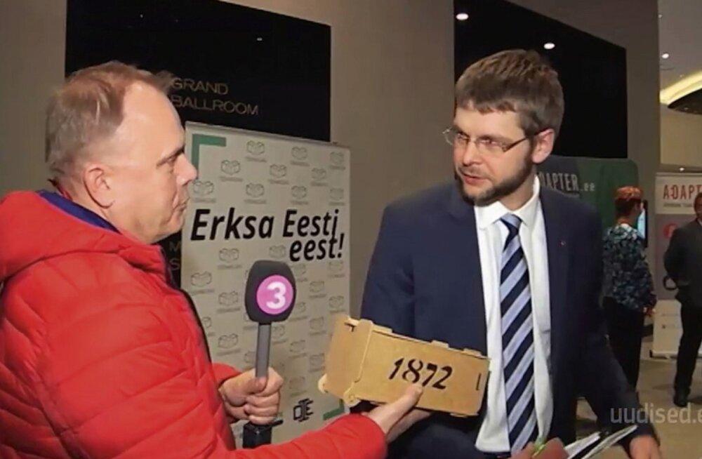 KIUSAMINE? Jevgeni Ossinovski takistas TV3 uudistel viinaloo avaldamist