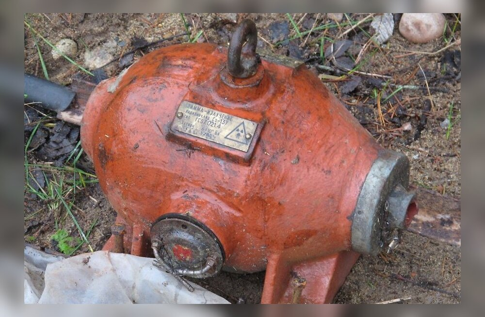 КаПо: источник опасного излучения был не просто выброшен, а спрятан