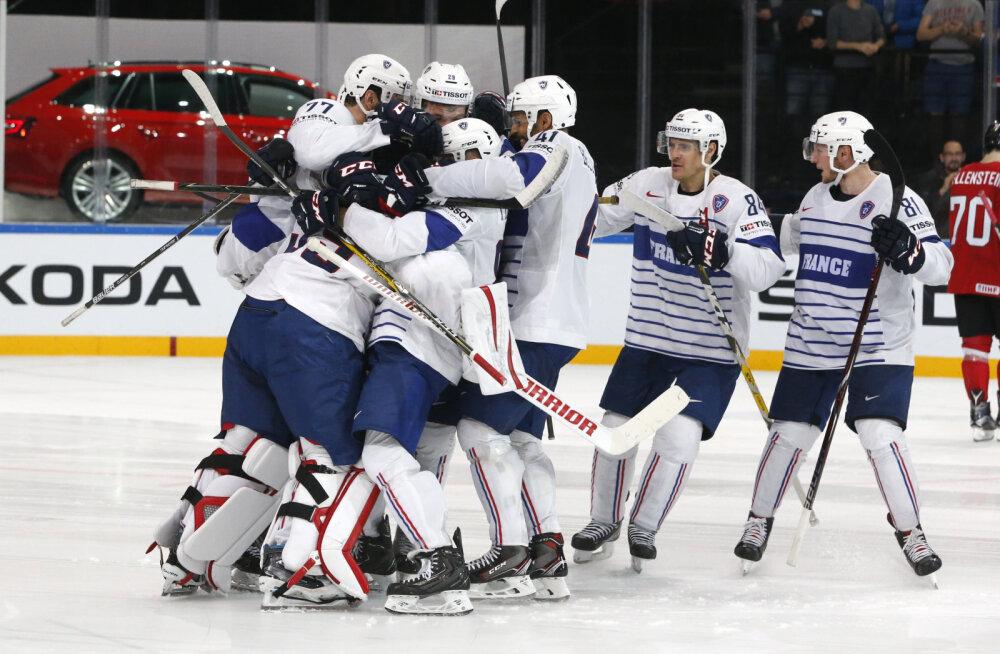 VIDEO: Soomet šokeerinud Prantsusmaa alistas ka Šveitsi