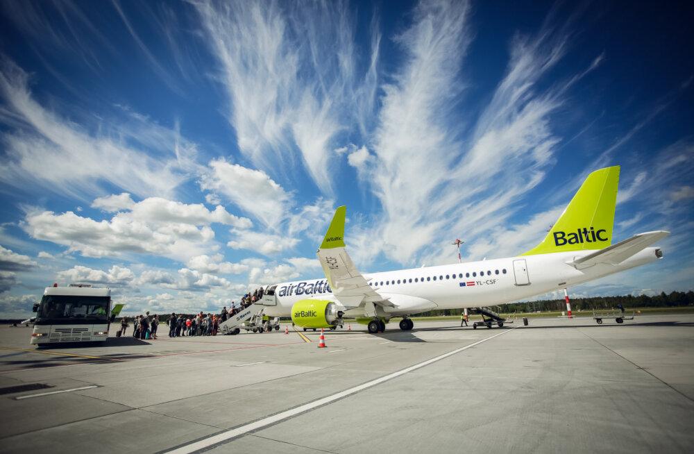 airBaltic опубликовалa полный план полетов из Таллинна на зимний период