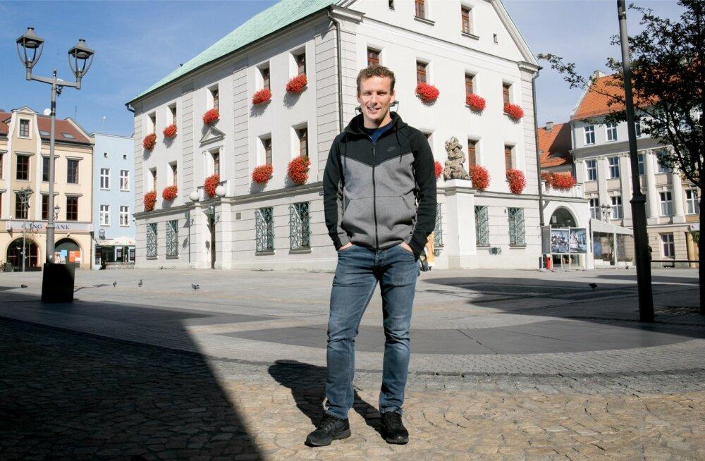 Konstantin Vassiljev naudib vaba aega võimaluse korral Gliwice vanalinnas.