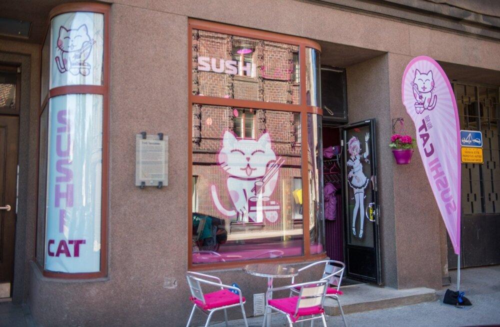 Sushi Cati restoran on alates 1. maist taas avatud ja tegutseb nüüd heaperemeheliku pereäri kätes.
