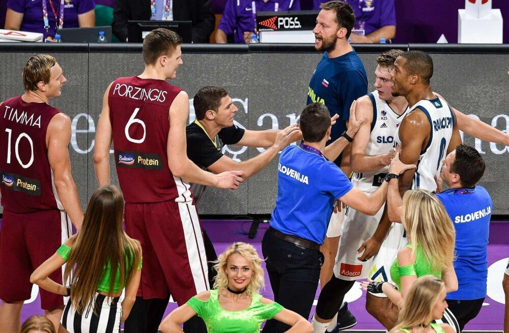 Eurobasketi duell, mis oli justkui NBA mäng