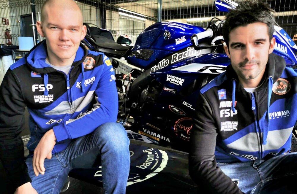 Hannes Soomer (vasakul) ja Isaac Viñales