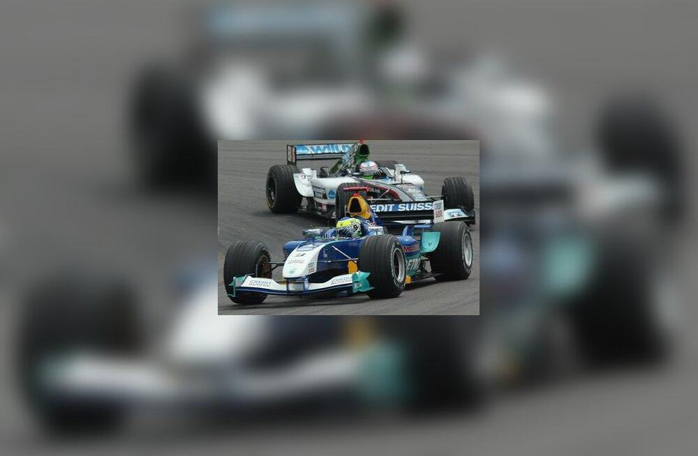 Giancarlo Fisichella ja Gianmaria Bruni Euroopa GP-l