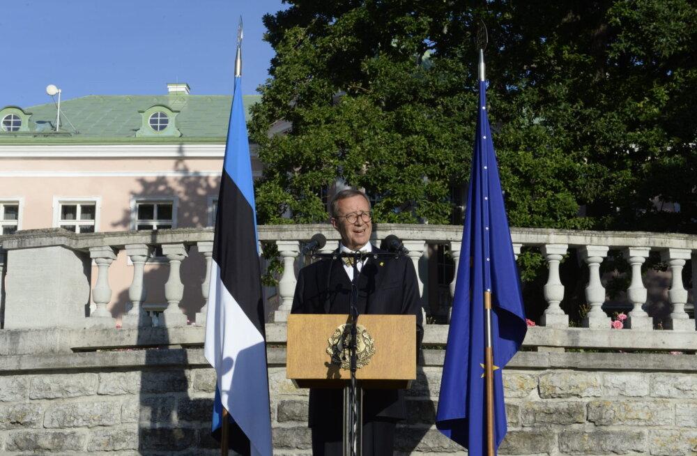 President Ilves: passiivse minevikuihaluse asemel tuleb vaielda selle üle, kuidas Eestit edasi viia