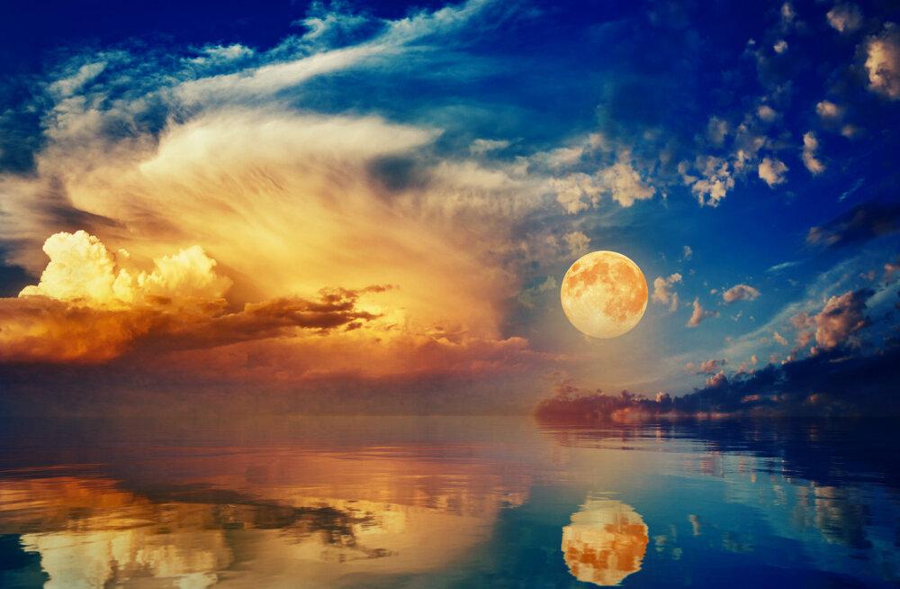 Seekordne täiskuu on aasta võimsaim ja tähtsaim superkuu, mida saadab kaunis akvariidide tähesadu