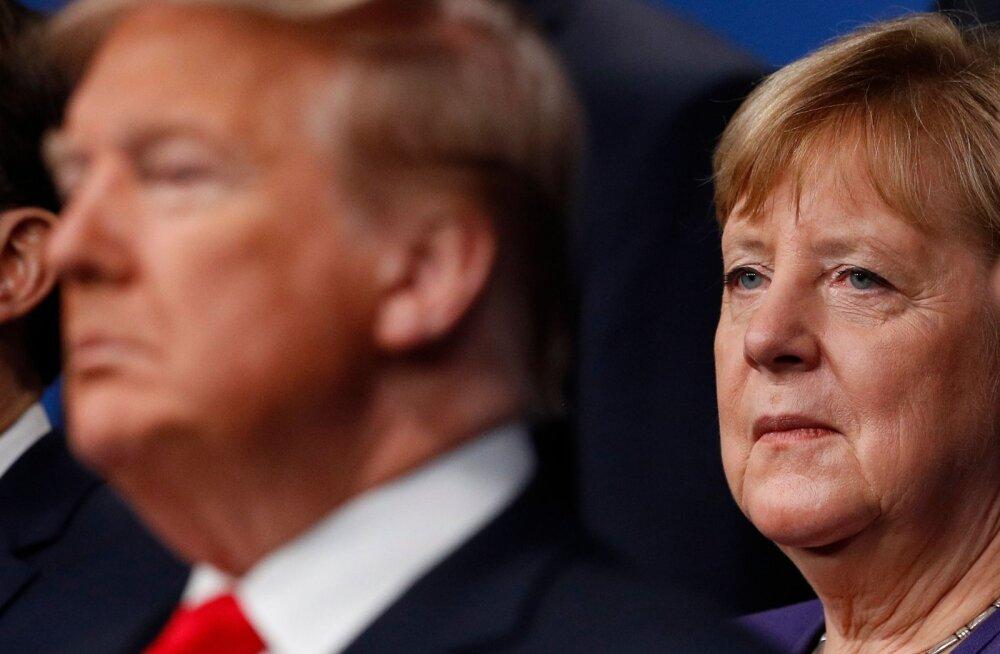 Trump kinnitas Saksamaalt sõdurite väljatoomist