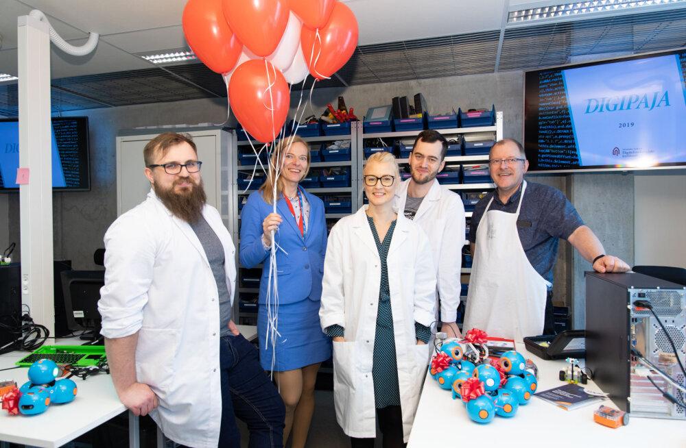 Таллиннский Университет открыл для обучения 300 учителей информатики лабораторию Digipaja
