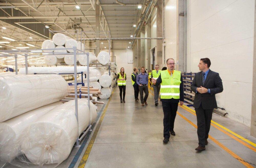 Производитель матрасов Sleepwell открыл расширение завода в волости Раэ