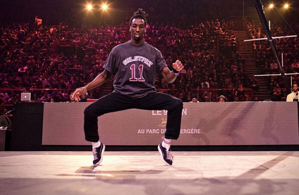 Camp of Hip-Hop'il esinev Malcom on üks tantsumaastiku juhtfiguuridest