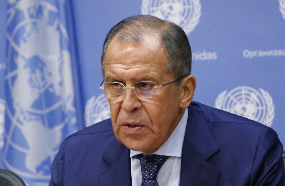 Venemaa välisminister Sergei Lavrov USA-s