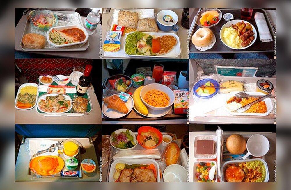 На борту самолета Estonian Air блюда подавал ресторан Egoist