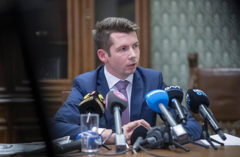 Martin Repinski pressikonverents