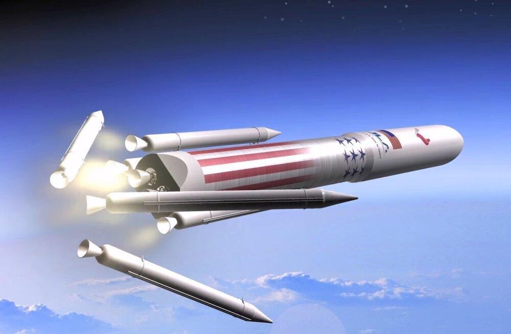 Mitte ainult Muski mängumaa: ka SpaceXi lähim rivaal arendab taaskasutatavat raketti