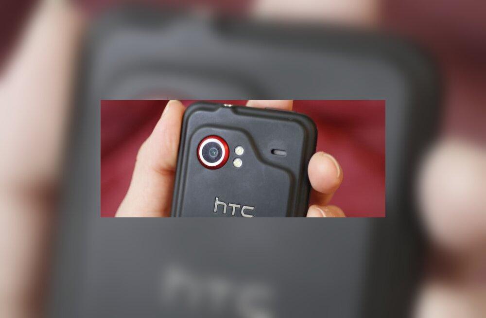 HTC Incredible peaks olema üks telefon, mis võidab Android 2.2 tulekust