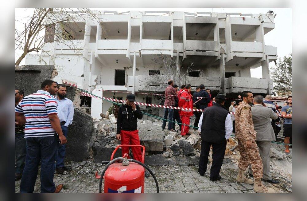 Pommirünnakus Prantsuse saatkonnale Liibüas sai kaks inimest viga