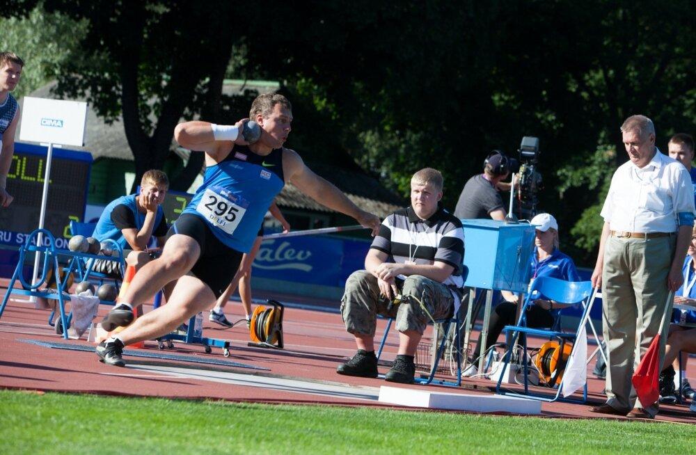Eesti meistrivõistlused kergejõustikus 2013