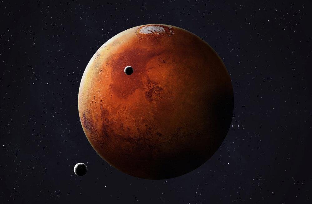 Marsil oli kunagi rõngas
