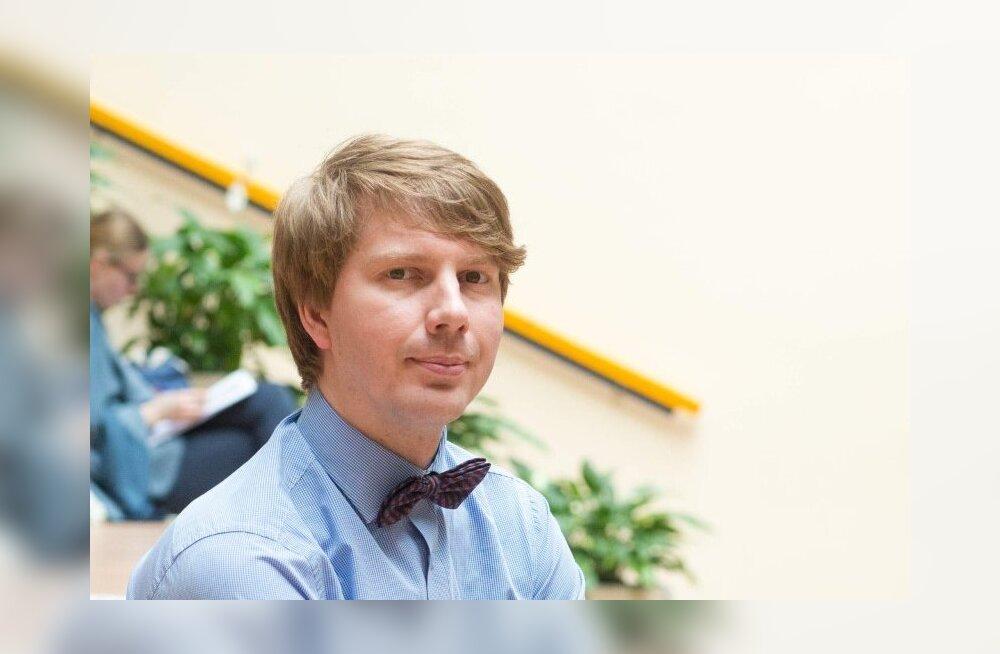 Eesti Ajaloo- ja Ühiskonnaõpetajate Seltsi juhatuse esimees Madis Somelar