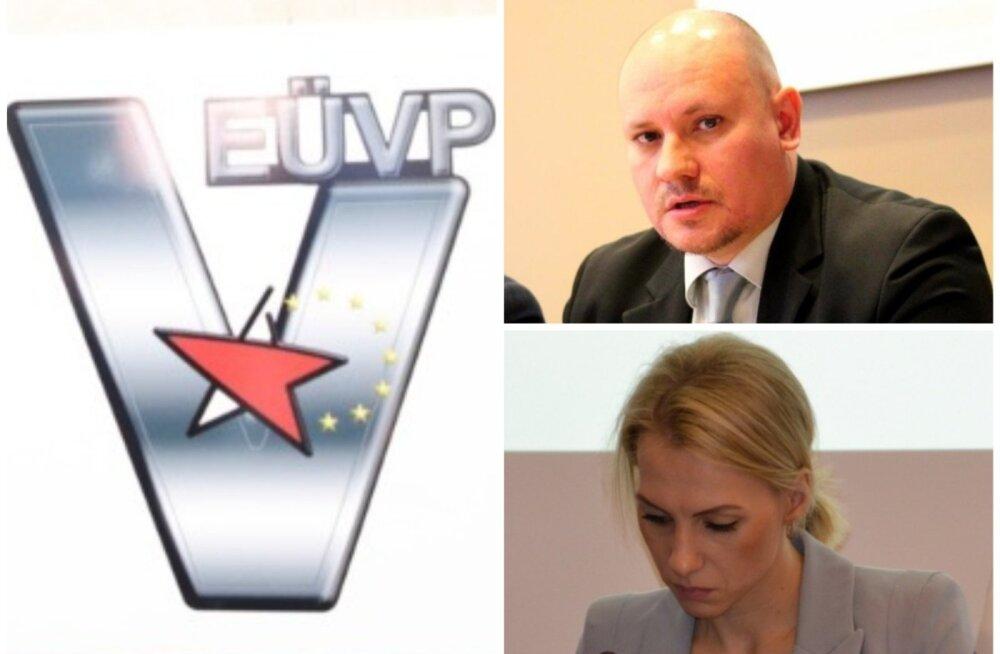 Valimiskomisjon ei suutnud otsustada, kumb Eestimaa Ühendatud Vasakpartei kahe konkureeriva nimekirja esitajast on legitiimne