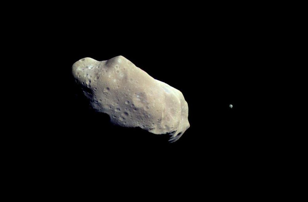 Kas 17-meetrised asteroidid jäävadki astronoomidel märkamata?