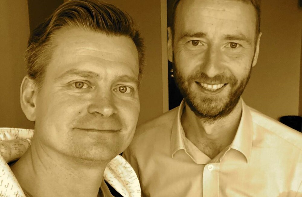 Veiko Valkiainen (vasakult) ja Ain Mihkelson.