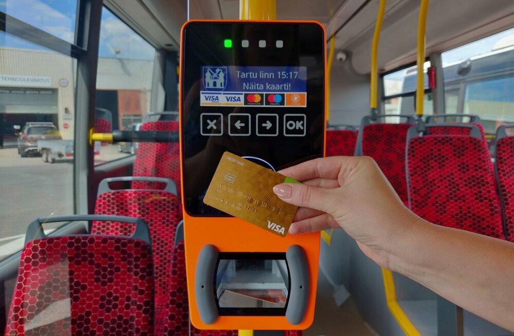 Tartu bussid saavad uued validaatorid, mis nõuavad reisijatelt rohkem tähelepanu