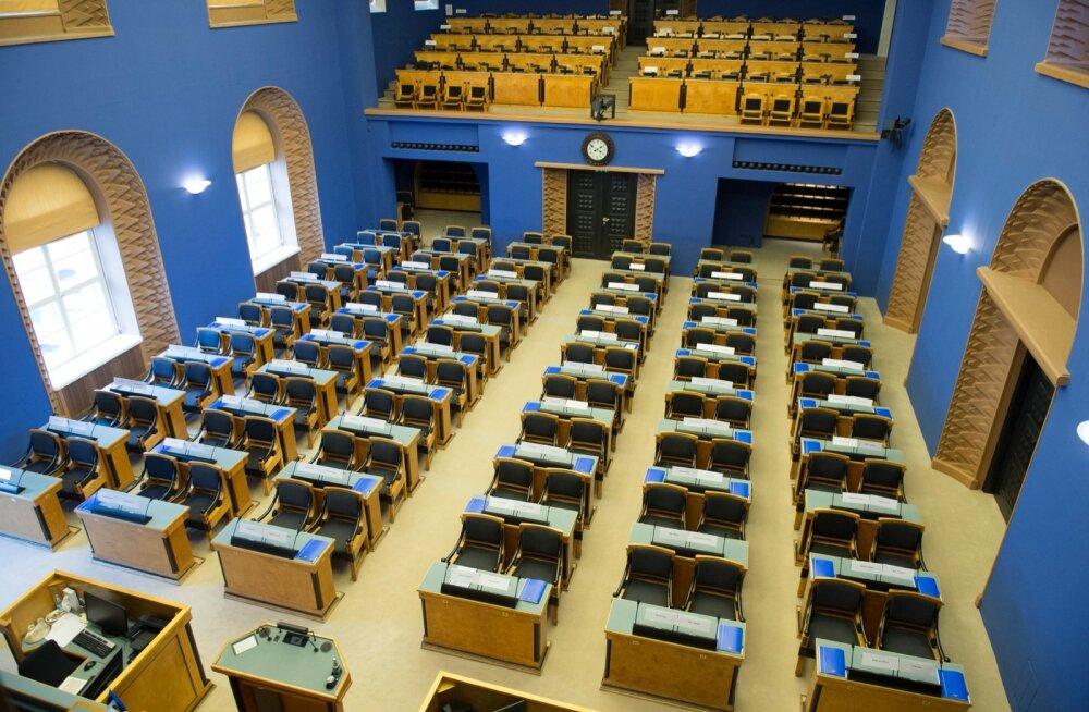 Mõned hetked uued riigikogu kokkutulemisest