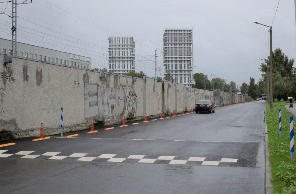 Закончен восстановительный ремонт улицы Сеэби в Кристийне