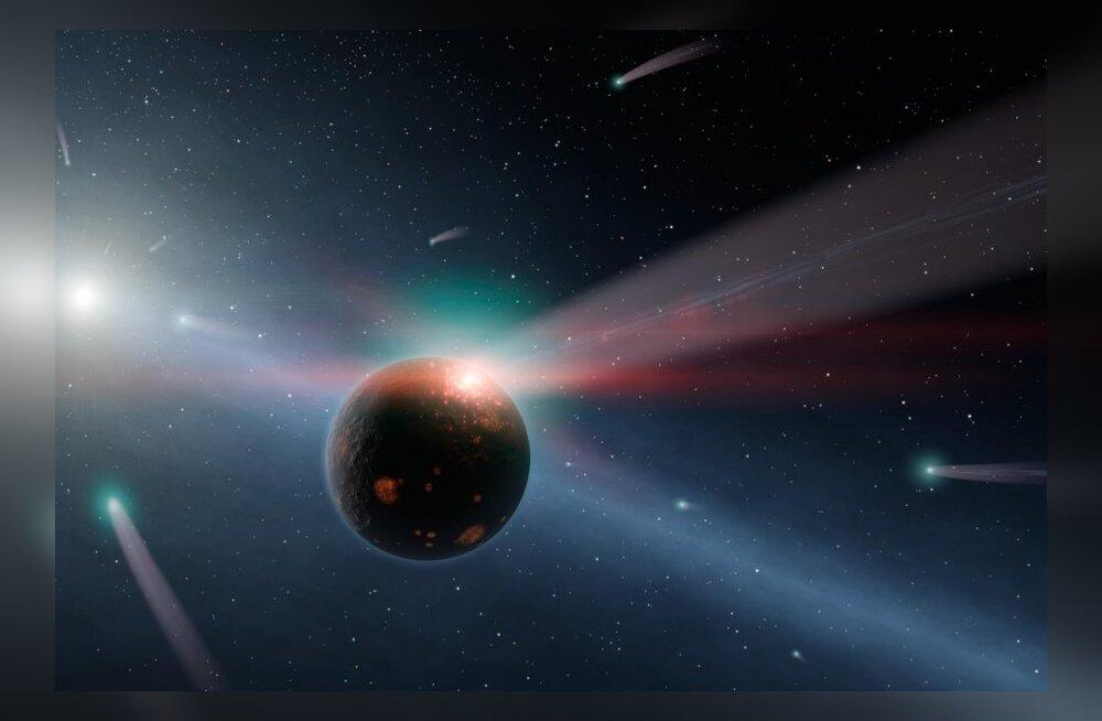 Kas järgmisel aastal näeme komeedi kokkupõrget Marsiga?