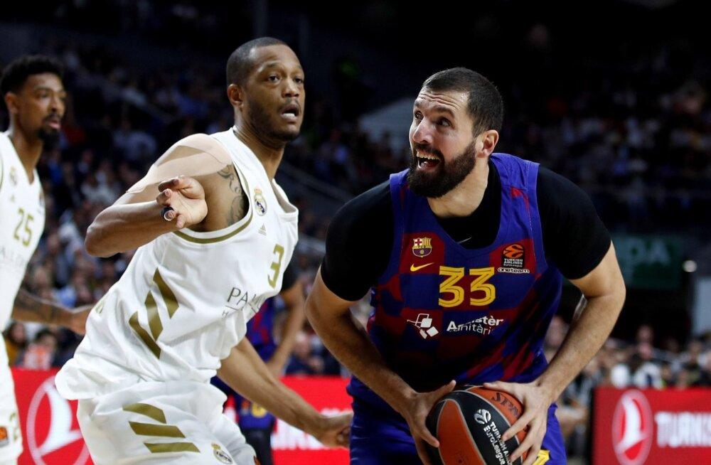 Anthony Randolph ja Madridi Real suutsid alistada Nikola Mirotici ja Barcelona.