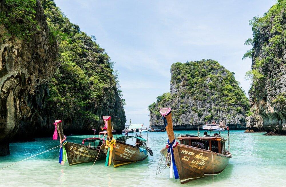 Hea pakkumine! Lenda esmaspäeval (20.01) 30-kraadise sooja kätte Phuketi saarele Tais