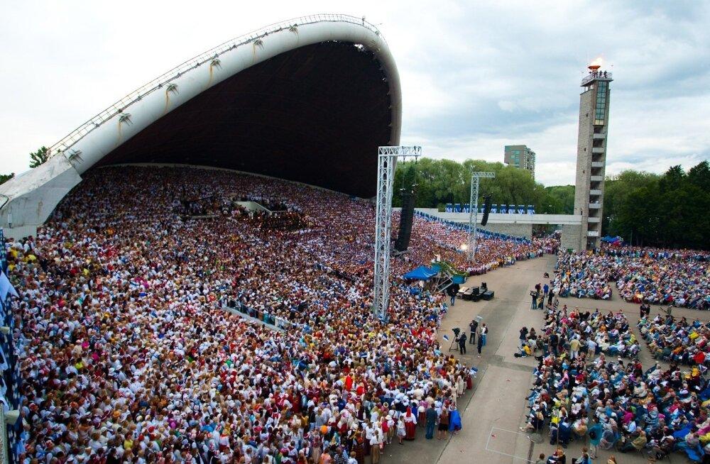 Juuli esimesel nädalavahetusel tulevad laulukaare alla taas kokku tuhanded lauljad.