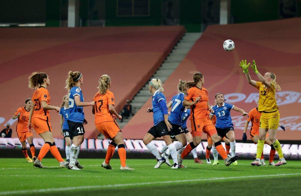 Eesti - Holland jalgpall