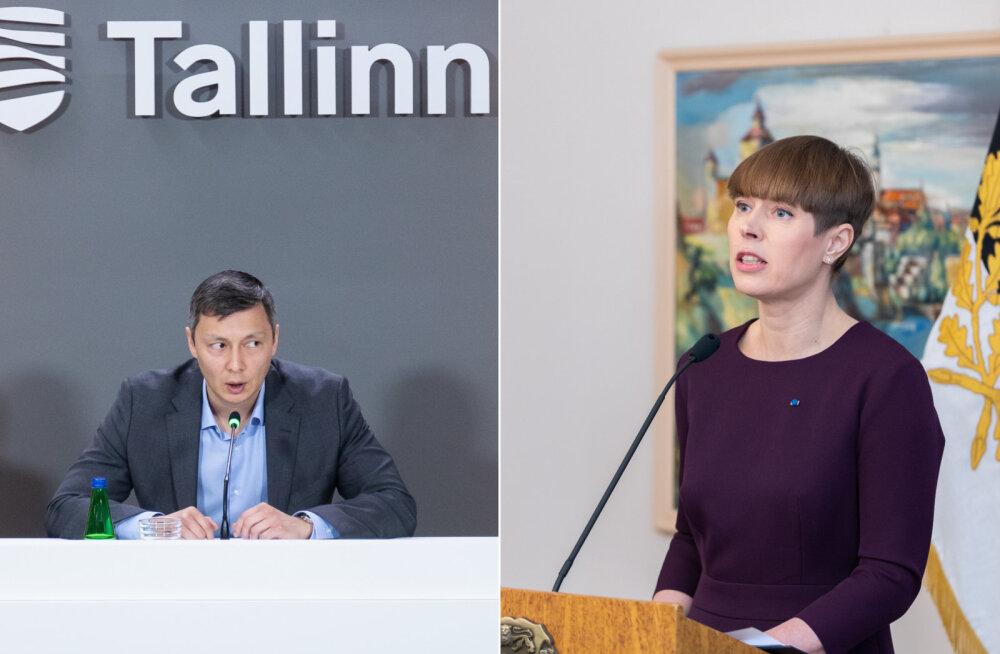 President taunis Tallinna uudistesaadet PBK-s