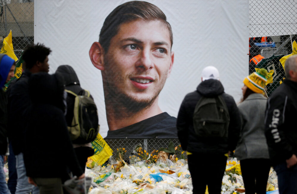 FIFA otsus: lennuõnnetuses hukkunud jalgpalluri eest tuleb Cardiffil maksta kuus miljonit eurot