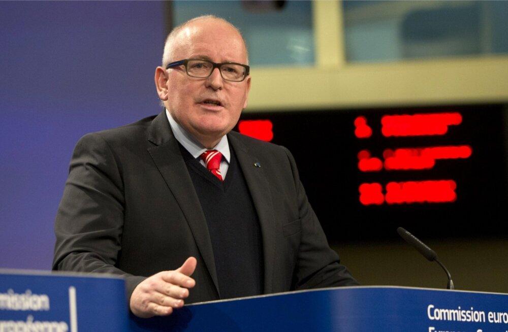 Euroopa Komisjon käivitas Poola vastu hääleõiguse võimaliku äravõtmise protsessi