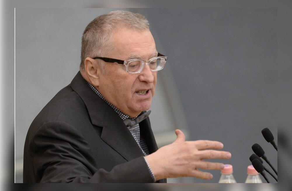 Žirinovski tahab sulgeda kõik McDonald'sid Venemaal ja pärast seda võtab ette Pepsi-Cola