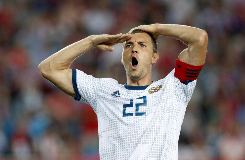Artjom Džjuba aitas Venemaa MMil veerandfinaali
