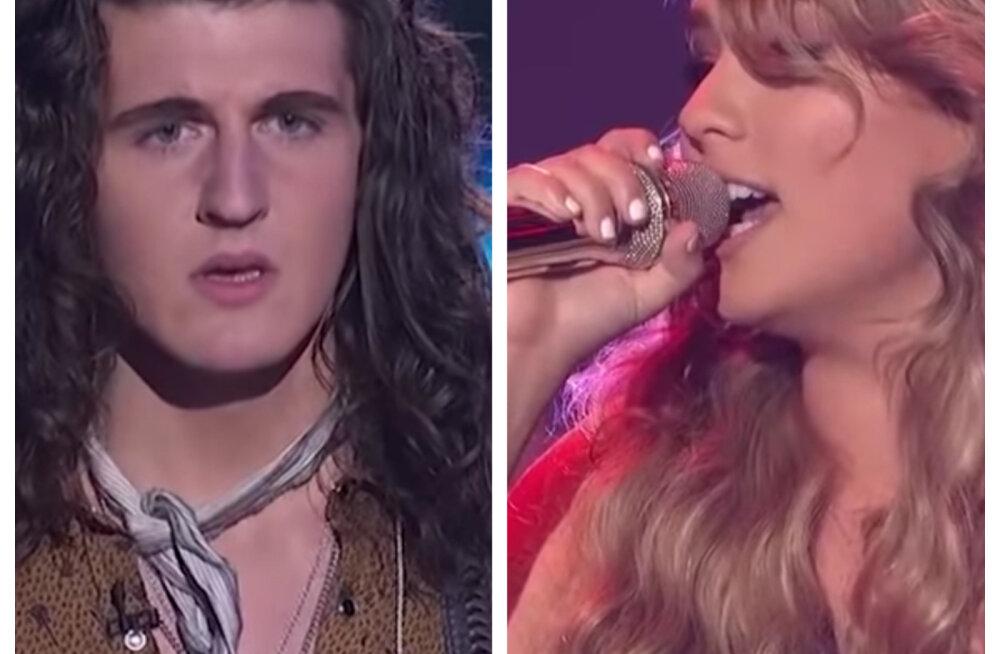 Hoia vaenlane lähedal: Ameerika talendisaates üksteisega võistelnud lauljad panid leivad ühte kappi