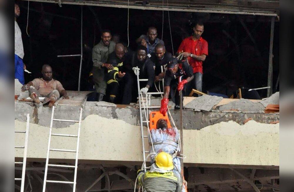 ÜRO kontori enesetapurünnakus hukkus 18 inimest
