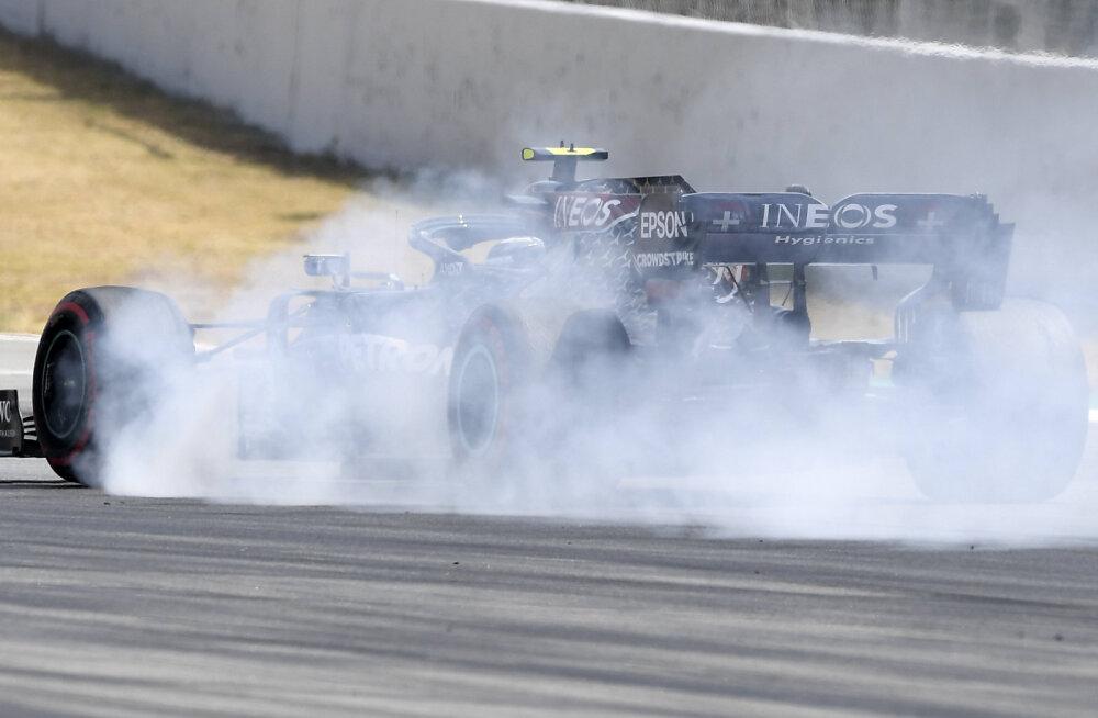 Bottas edestas Hispaania GP esimesel vabatreeningul Hamiltoni, Verstappen kolmas