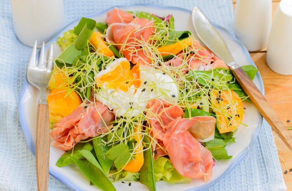 Kerged ja värsked kevadised toidud