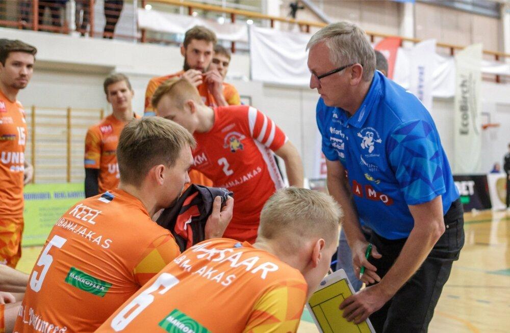 Ei treener Avo Keel ega kapten Martti Keel olnud Pärnu võidumängu järel rahul.